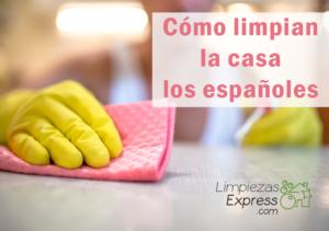 cómo limpian los españoles, estudio de limpieza en españa, suciedad de hogares en españa,