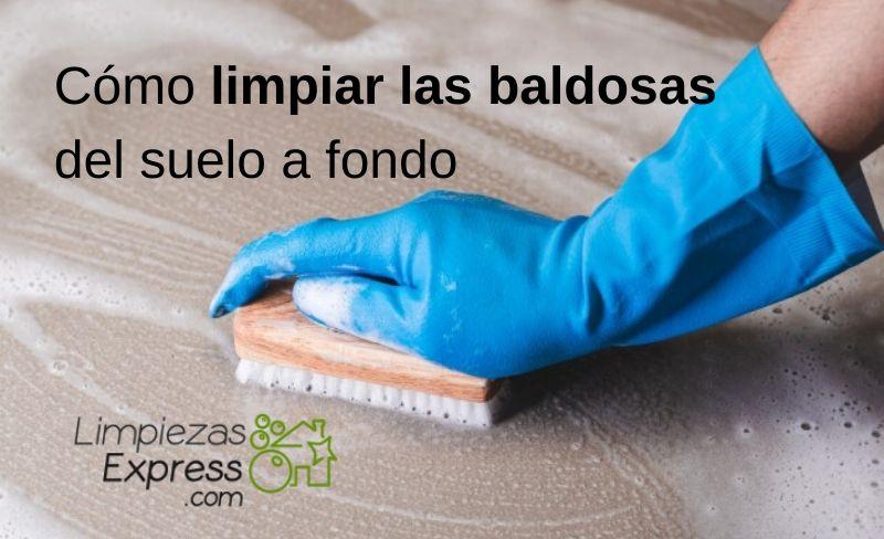 Cómo limpiar las baldosas del suelo a fondo