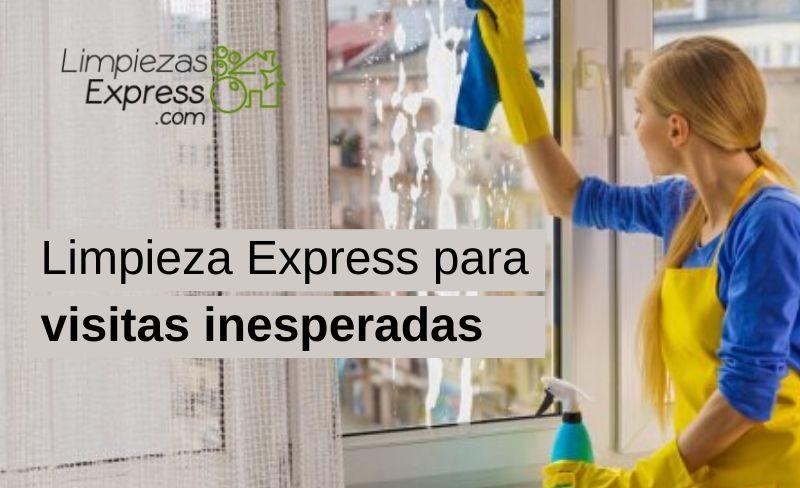 Limpieza Express para visitas inesperadas