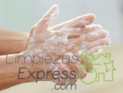 limpieza después de la limpieza, proteger manos despues limpiar, lavar manos despues limpiar,