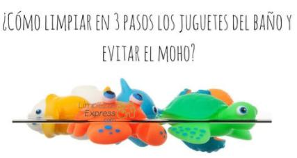 Cómo Limpiar Los Juguetes Del Baño Y Evitar El Moho
