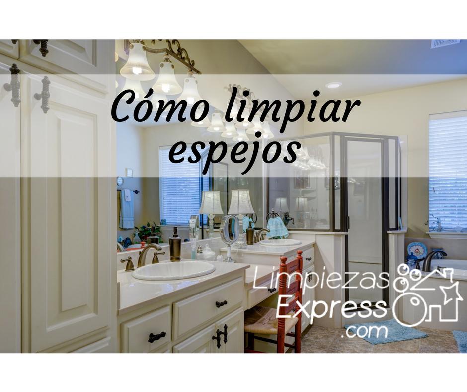 limpieza de espejos, como limpiar espejo, limpieza de cristales