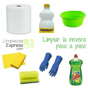 limpieza de nevera, limpiar la nevera, limpieza de frigorífico