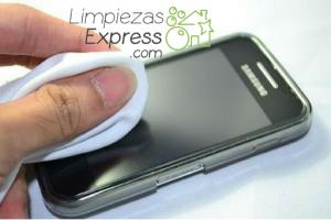 limpieza de la pantalla del móvil, limpieza de pantalla, como limpiar pantalla del movil