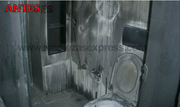 limpiar piso despues de incendio Alcala de Henares