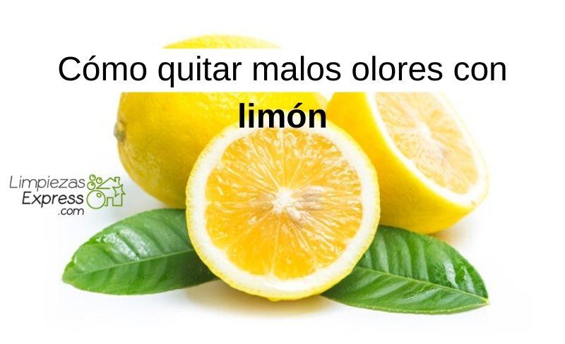 Cómo quitar malos olores con limón
