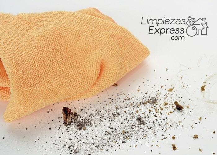 Limpiar bayetas hogar I, cómo limpiar bayetas del hogar paso a paso