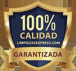 Calidad garantizada, calidad limpiezas express