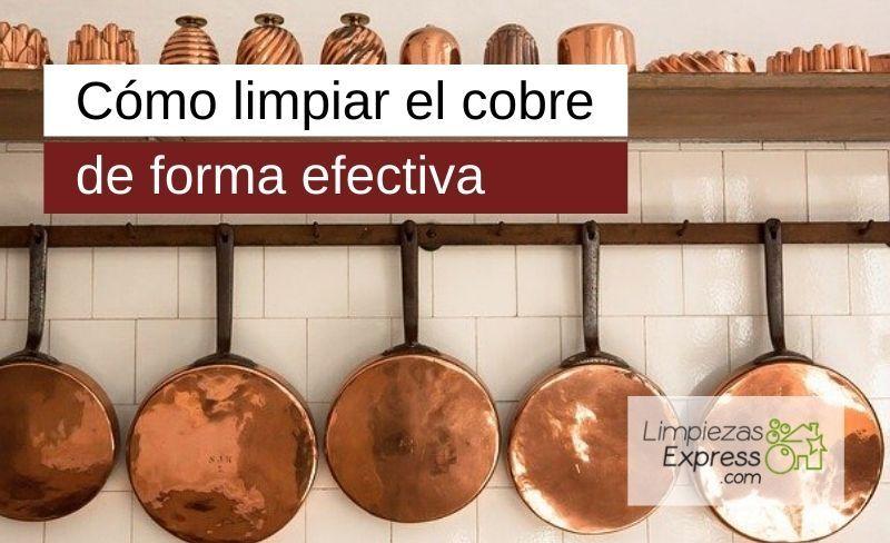 Cómo limpiar el cobre de forma efectiva