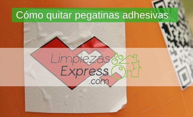 Cómo quitar pegatinas adhesivas