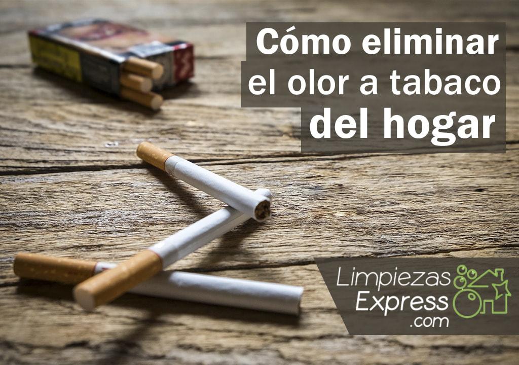 Eliminar olor a tabaco del hogar
