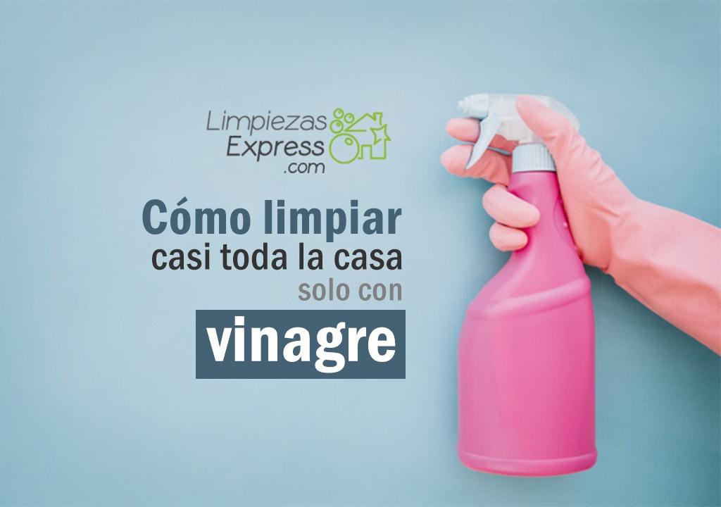 limpiar la casa con vinagre