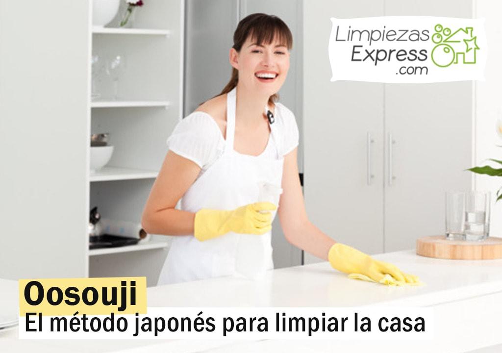 método para limpiar la casa