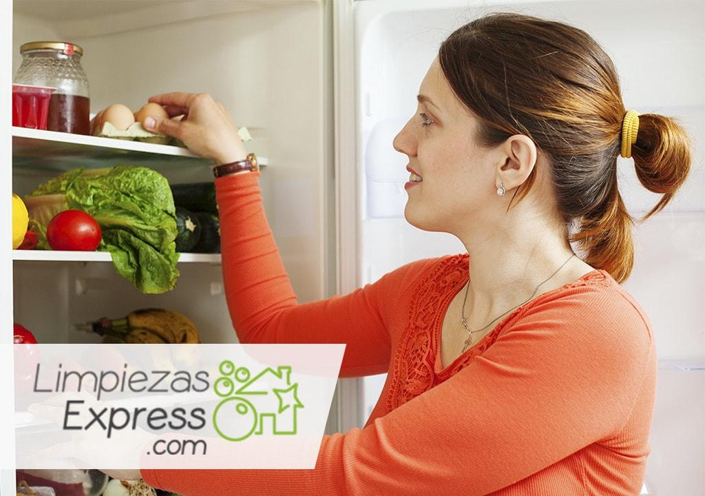 limpiar el frigorífico a fondo