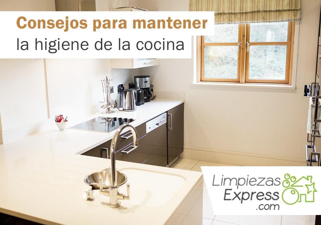 mantener la higiene en la cocina