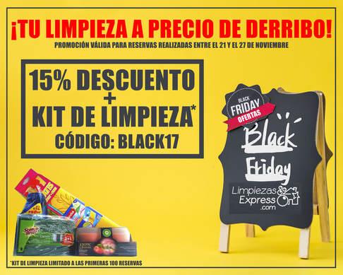 black friday, limpiezas express, limpiezas de casas profesionales
