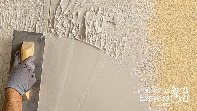 quitar gotele de las paredes, eliminar gotele, pintore profesionales