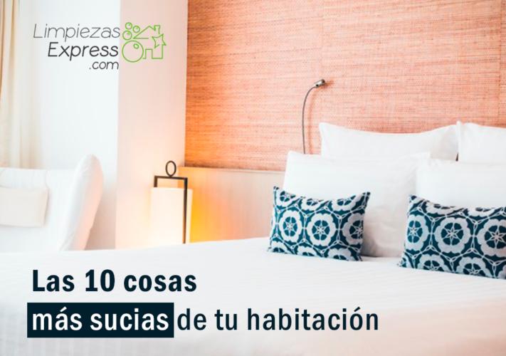 las 10 cosas mas sucias de tu casa