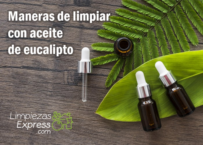 como limpiar con aceite de eucalipto, remedio casero de limpieza con aceite de eucalipto, aceite de eucalipto para limpiar