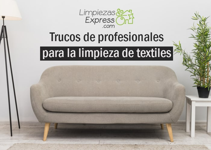profesionales para limpieza de textiles