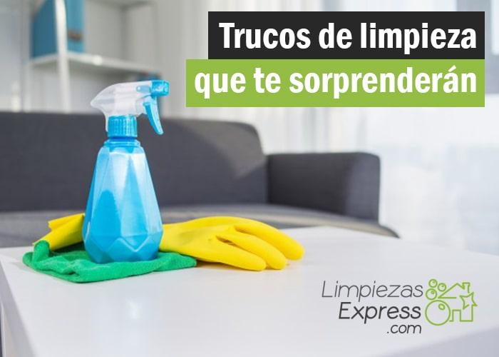 trucos de limpieza sorprendentes