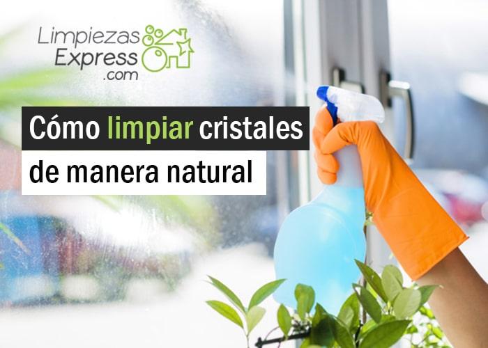 Consejos para limpiar cristales de manera natural