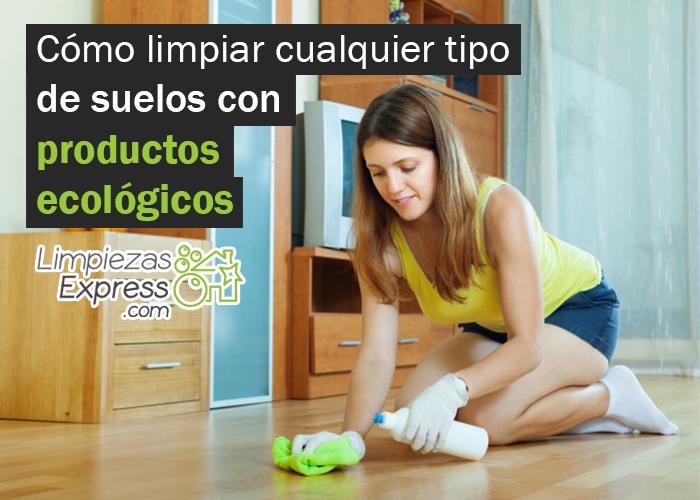 Limpiar con productos ecológicos