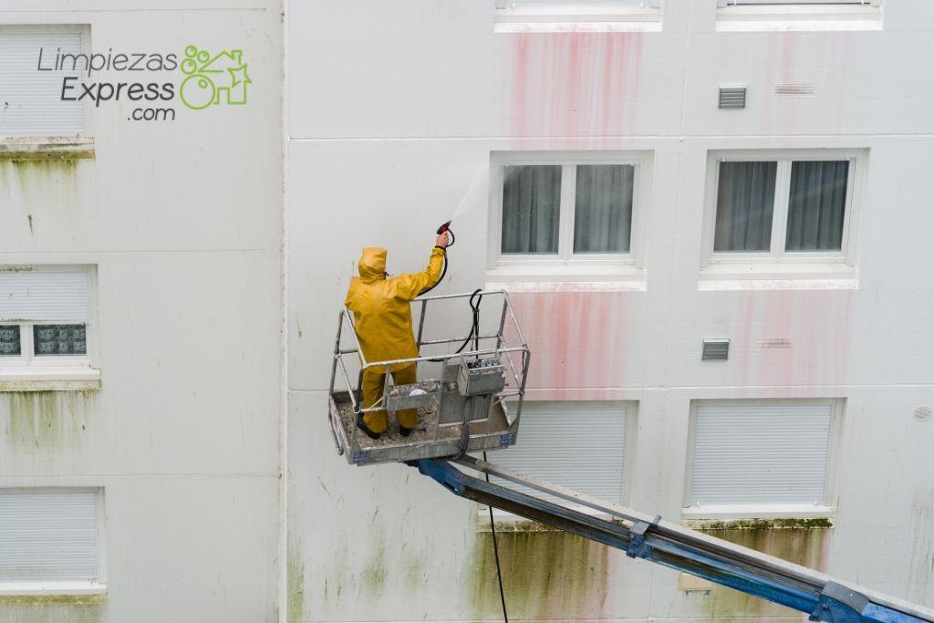 coste limpieza de fachadas