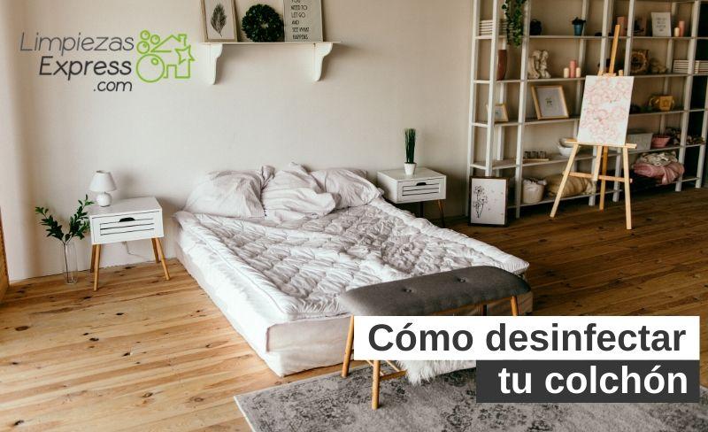 Cómo desinfectar tu colchón
