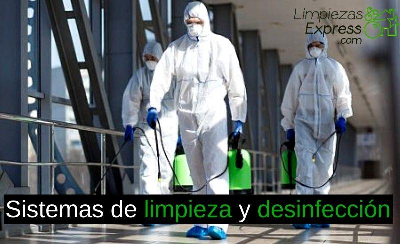 Sistemas de limpieza y desinfección profunda