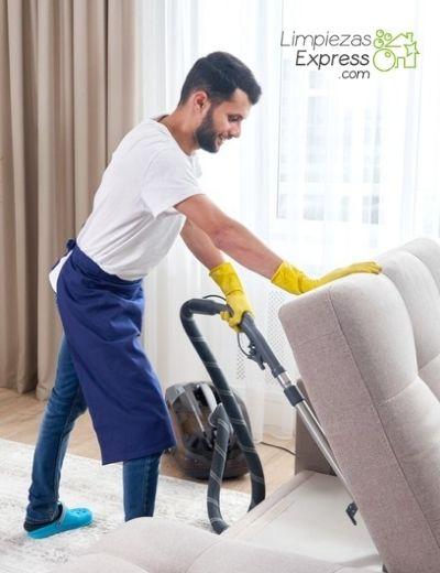con que frecuencia hay que limpiar muebles y tapicerias