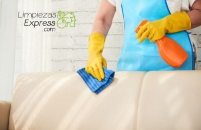 frecuencia limpieza muebles y textiles