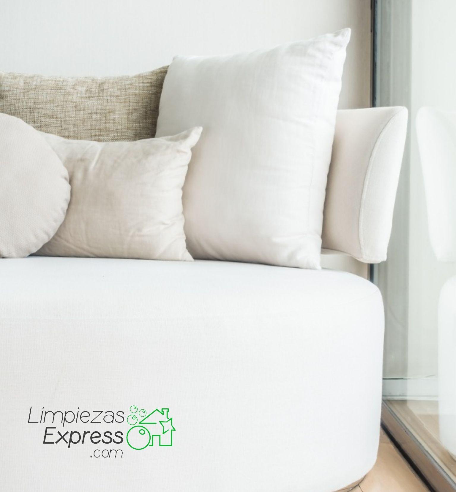 profesionales en la limpieza de textiles